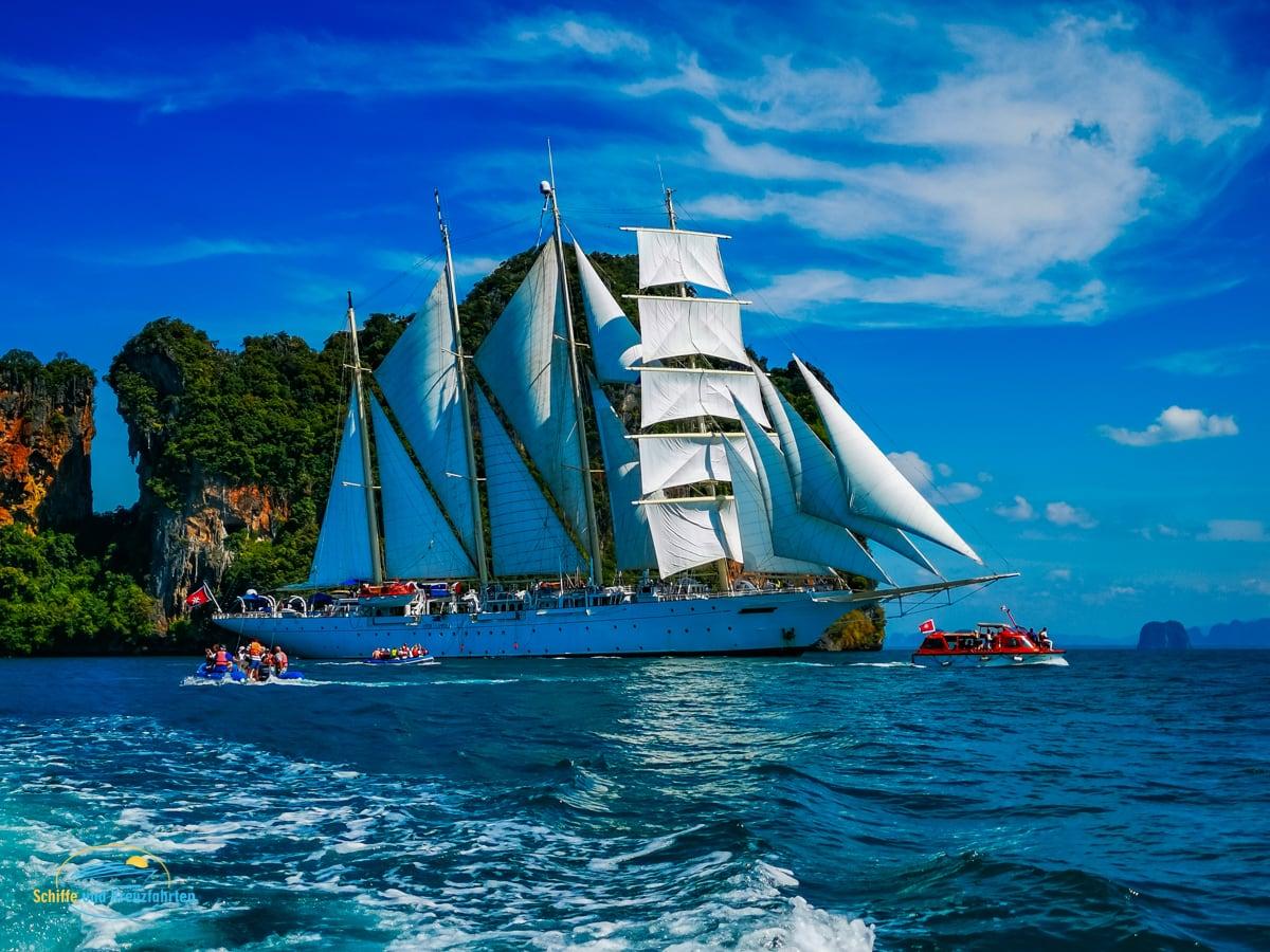 Star Clipper kommt im Sommer 2022 ins Mittelmeer zurück