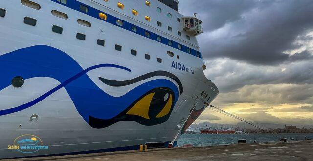 AIDAmira bricht heute auf erste Südafrika Kreuzfahrt auf