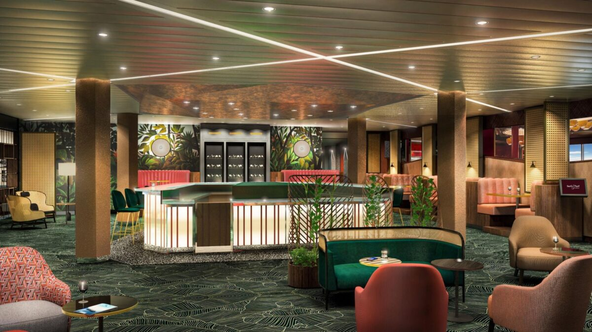 Diamant Bar | © Rendering TUI Cruises