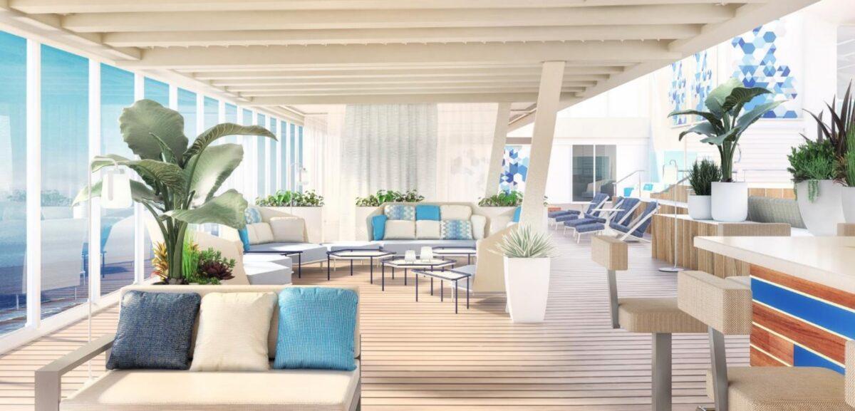 Innenpoolbereich | © Rendering TUI Cruises