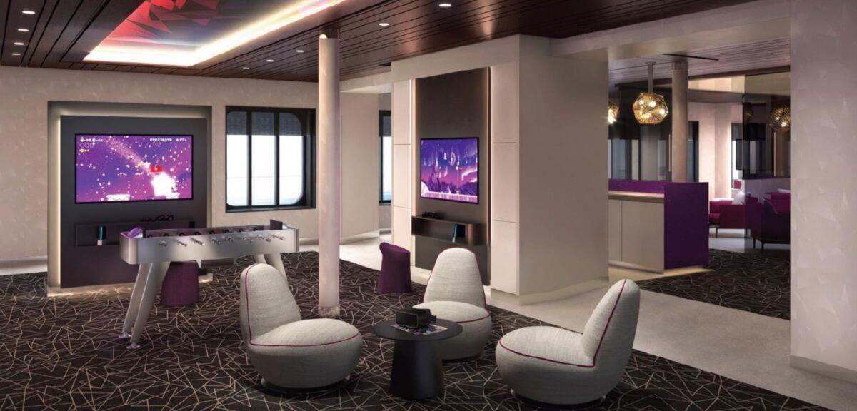 Teens Lounge & Spielplatz | © Rendering TUI Cruises