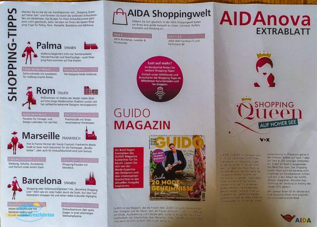 Shopping Queen auf AIDAnova: Hinter den Kulissen - Ich war dabei!