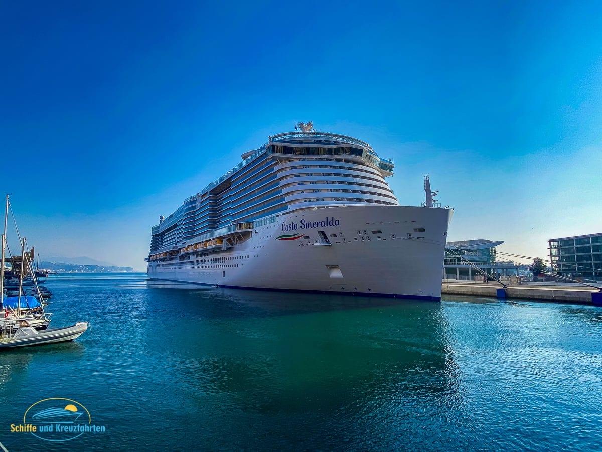 Costa Smeralda wird in Savona für den Neustart vorbereitet
