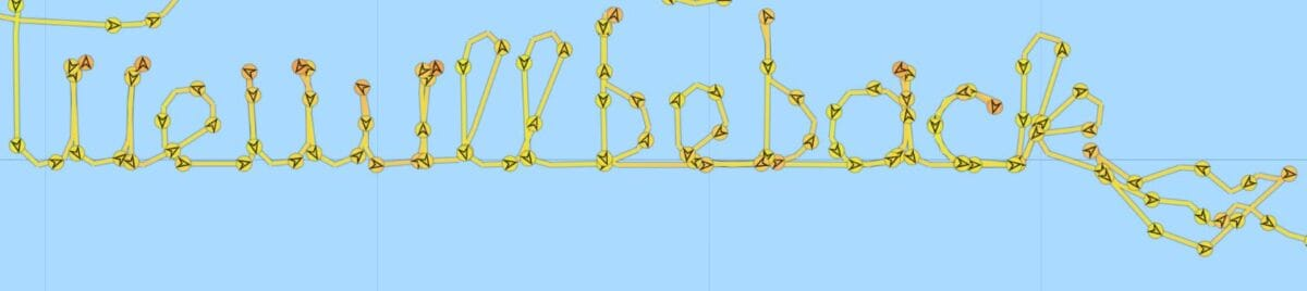 """AIDAblu """"schreibt"""": We will be back ins Mittelmeer"""