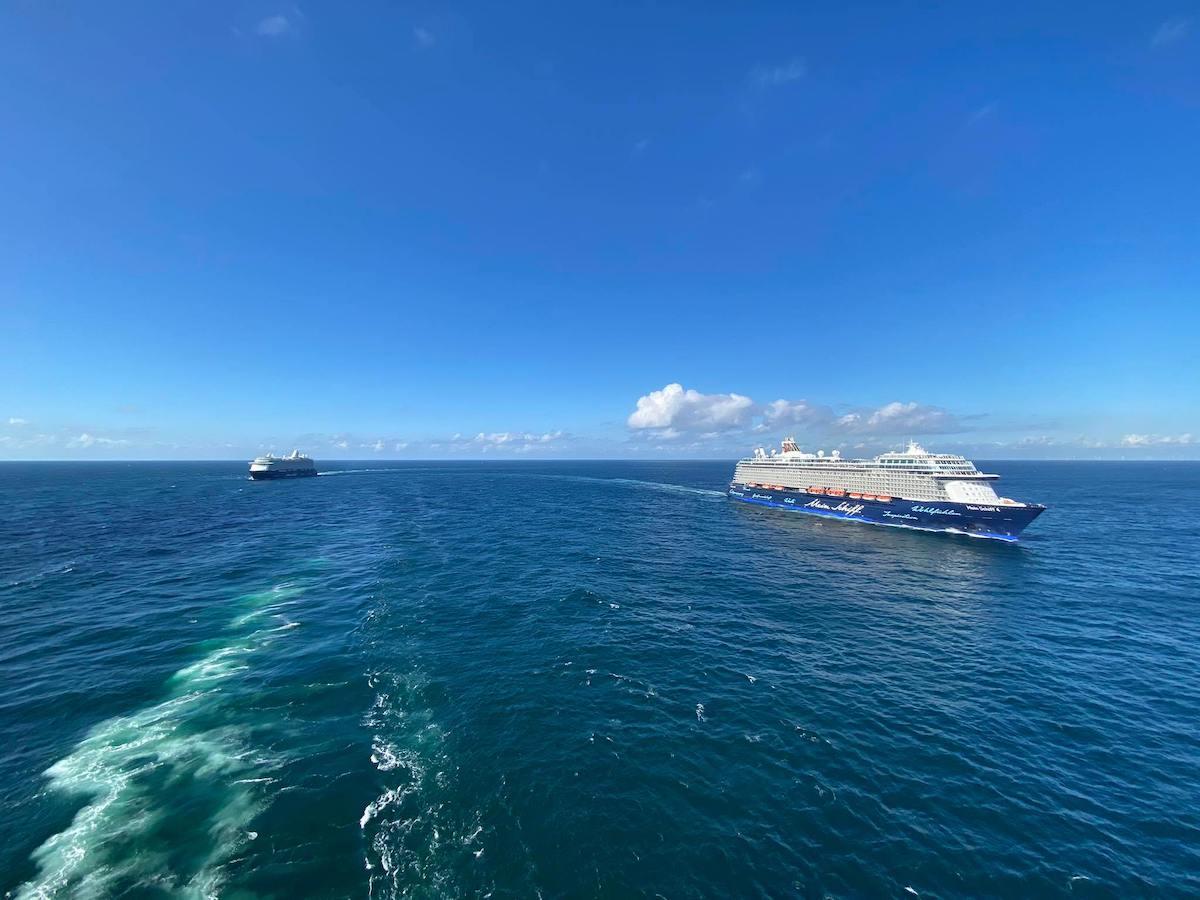 TUI Cruises: Drei Kreuzfahrtschiffe im Dienst, vier nicht - der aktuelle Stand