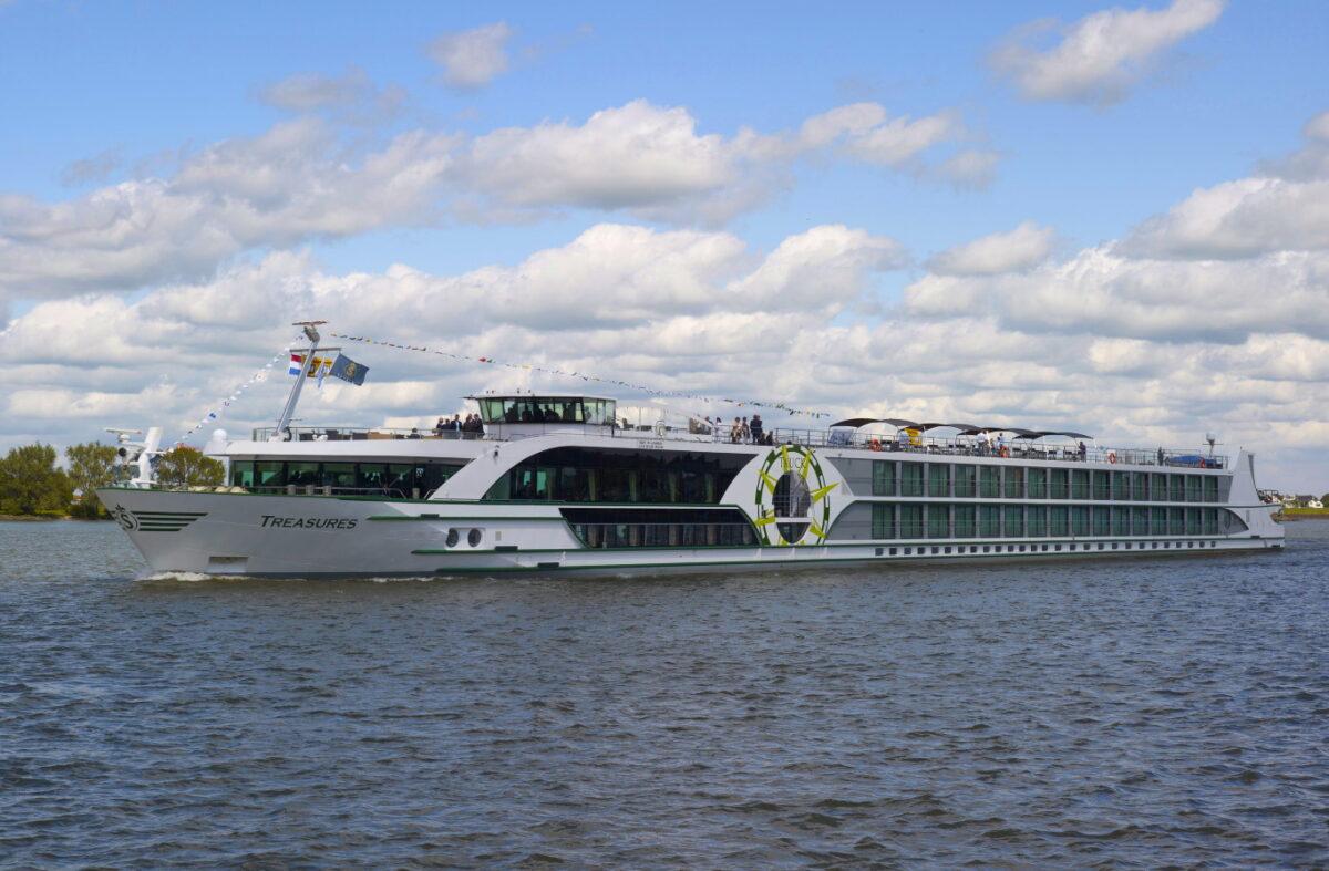 VIVA Cruises: MS Treasures muss in die Werft - Reiseabsagen