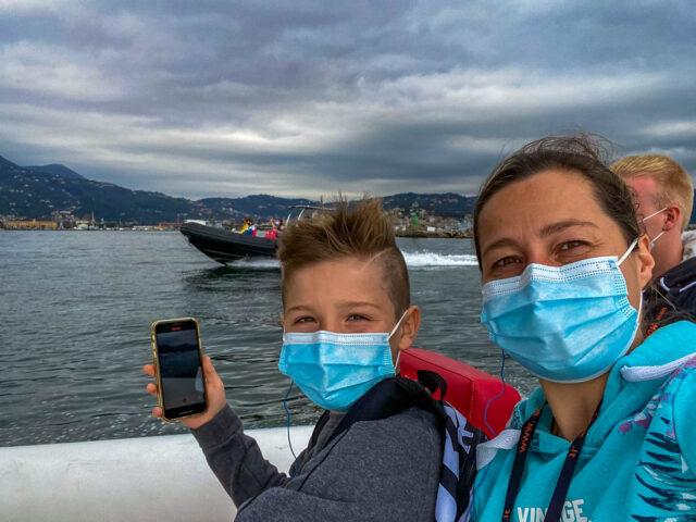 Von La Spezia aus mit dem Zodiak nach Portovenere: AIDAblu Bella Italia - Erste Kreuzfahrt nach Corona Pause (Reisebericht)
