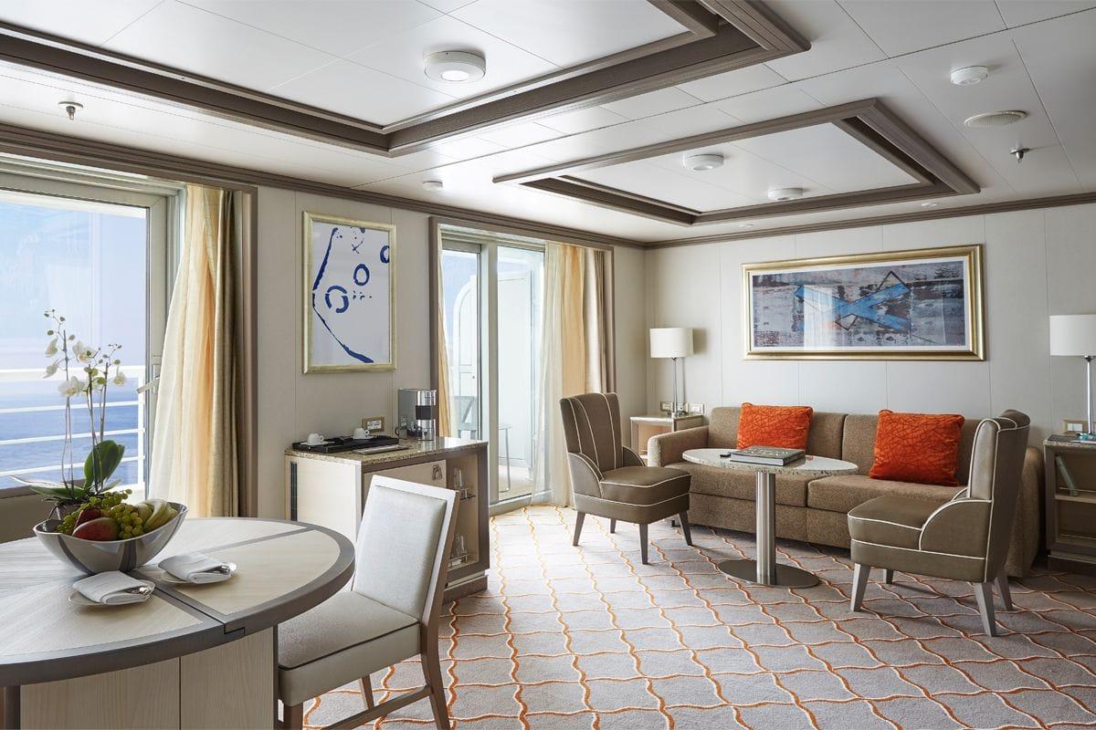 Silver Suite an Bord der Silver Dawn © Silversea Cruises