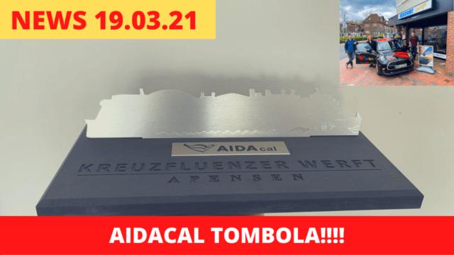 AIDAcal TOMBOLA bis 15 Uhr! | Liebe & Harmonie | Bilder & Videos | Kreuzfahrt News Show 19.03.2021