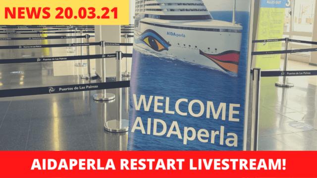 Wir sind auf AIDAperla | AIDAcal Gewinner | Kreuzfahrt News 20.03.21