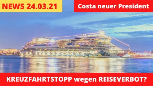 Kreuzfahrtstopp wegen Reiseverbot? | Mein Schiff Notfall | Kreuzfahrt News 24.03.21