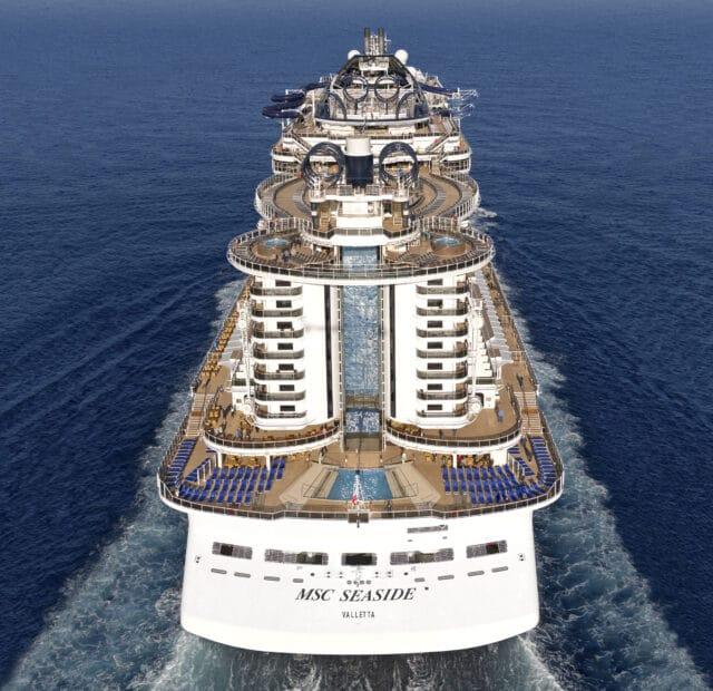 MSC Cruises über die Betriebsaufnahme von MSC Seaside