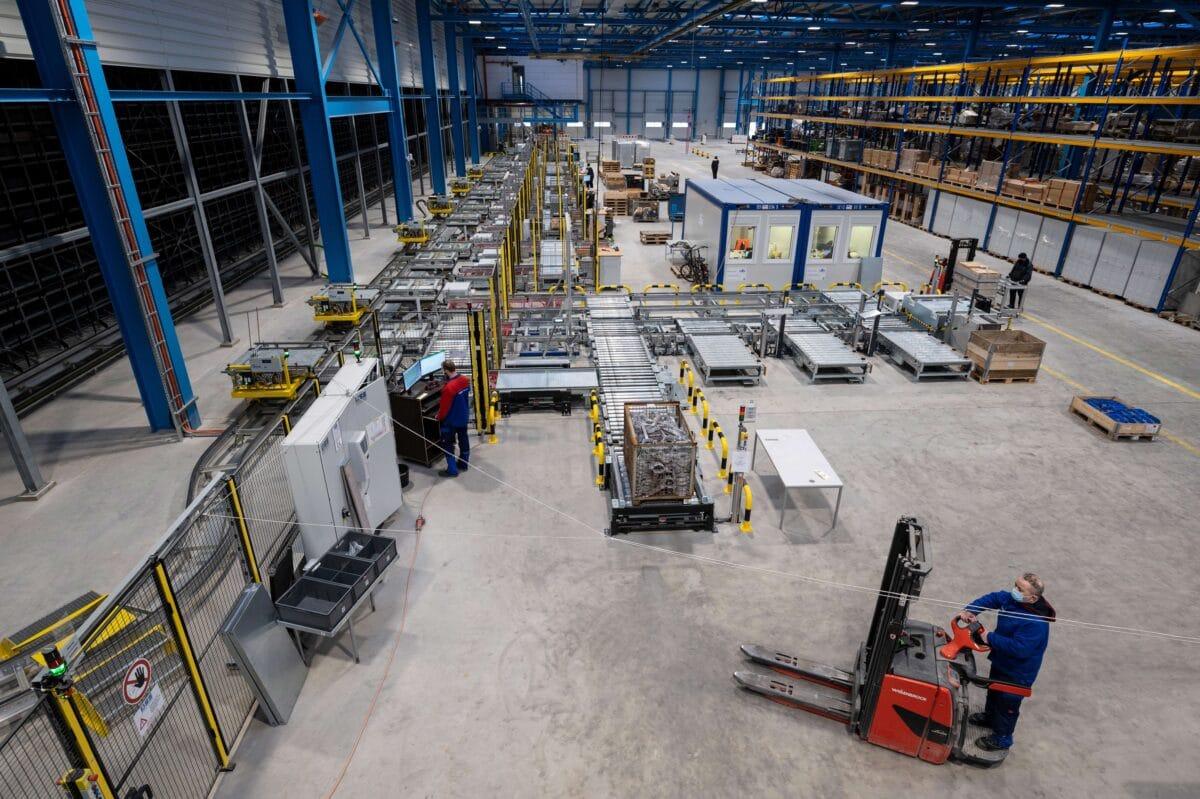 Meyer Werft: Neues Logistikzentrum startet den Betrieb