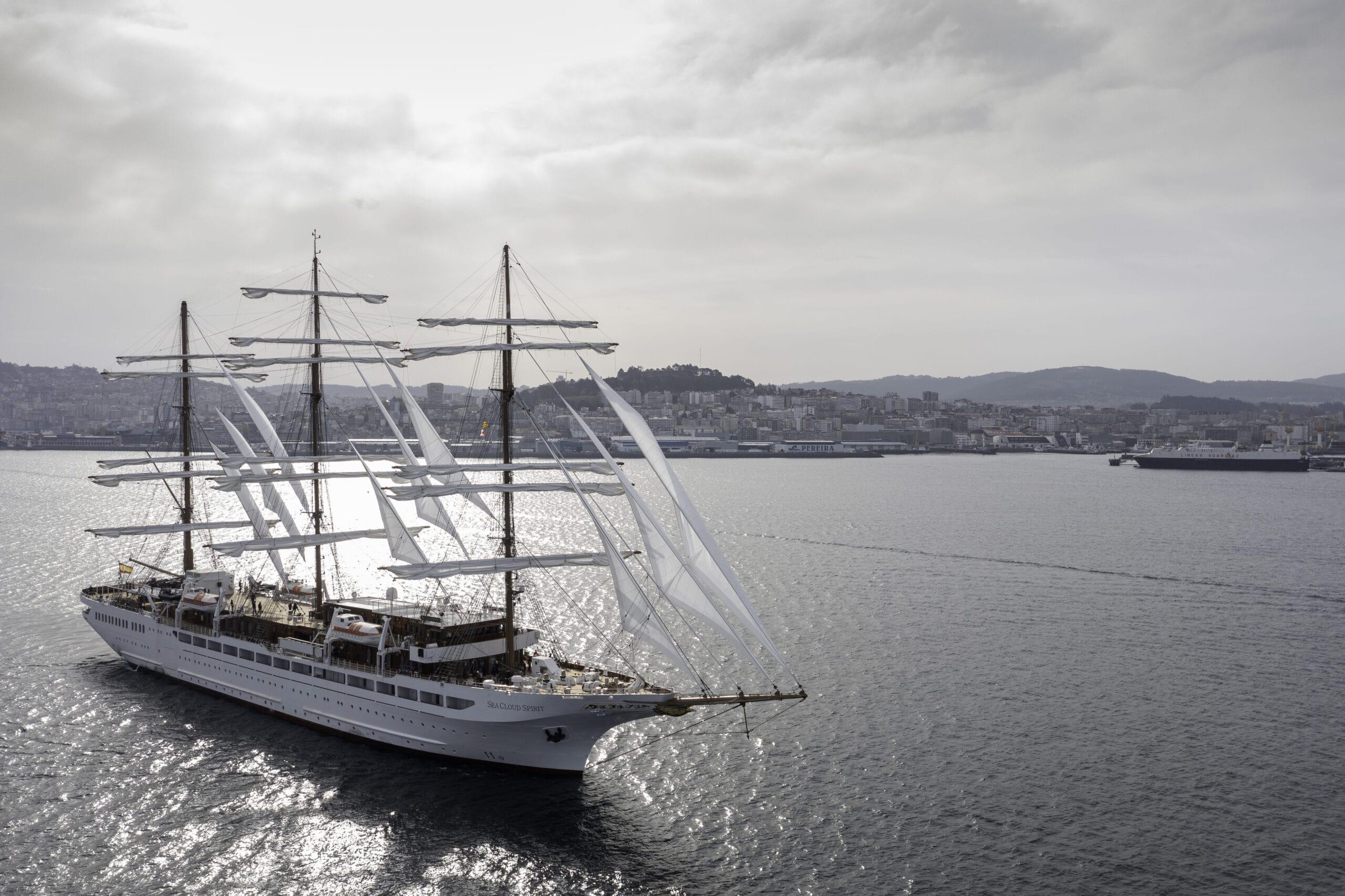 Sea Cloud Spirit © Sea Cloud Cruises