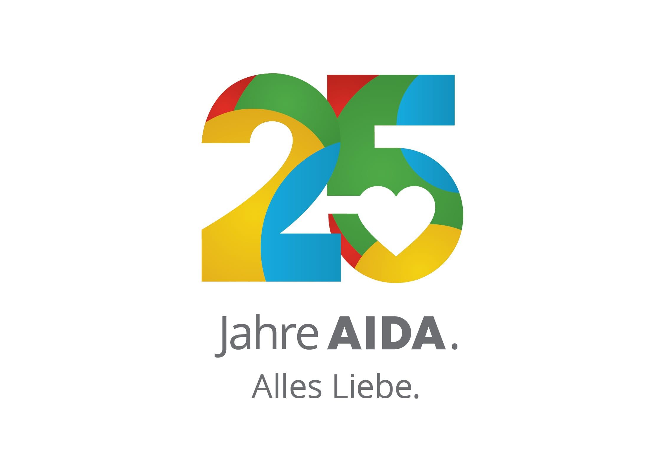 AIDA_25Jahre_Logo