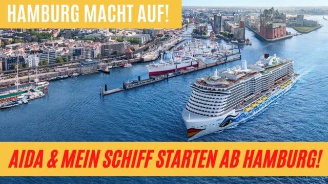 AIDA & Mein Schiff ab Hamburg   AIDAcosma Transreise   Private Talk   Kreuzfahrt News 28.05.21