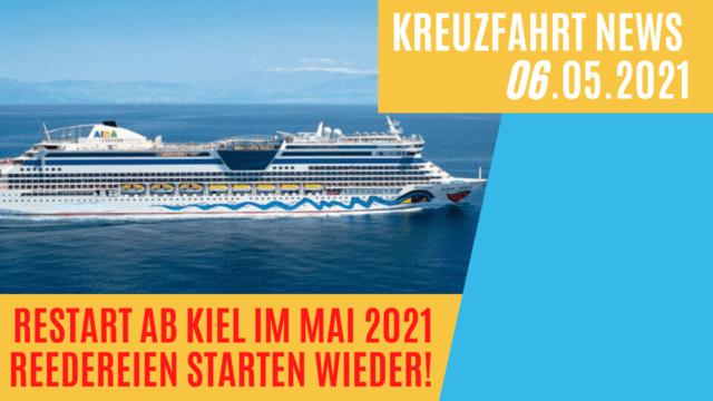 Livestream: Kreuzfahrten ab Kiel im Mai - Alle Fakten!