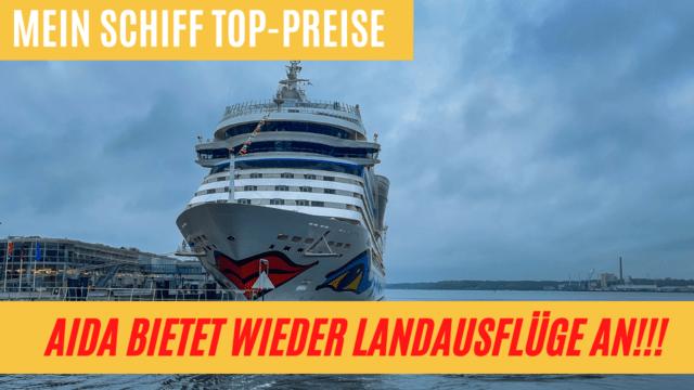 AIDA mit Landausflügen   AIDAcosma Taufpatin   Mein Schiff Top-Preise   Kreuzfahrt News 04.06.21