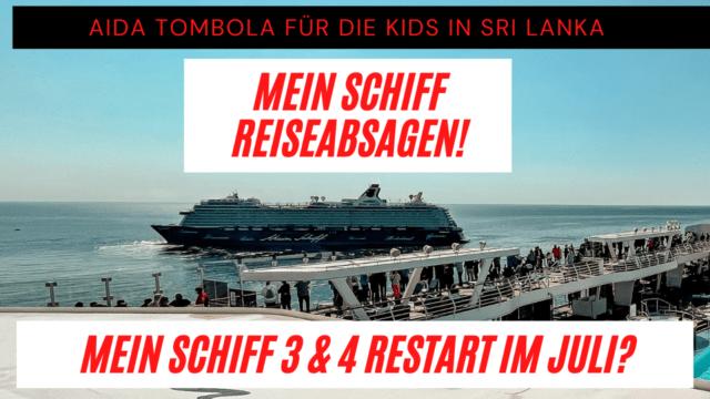 Mein Schiff 3 & Mein Schiff 4 Restart im Juli?   TUI Cruises Reiseabsagen   MSC ohne Einzelzuschlag  Kreuzfahrt News 05.06.21
