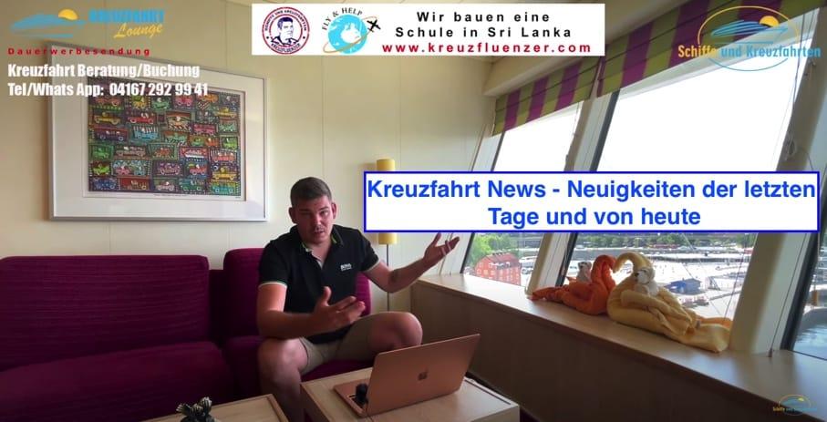 Kreuzfahrt News 21.06.2021