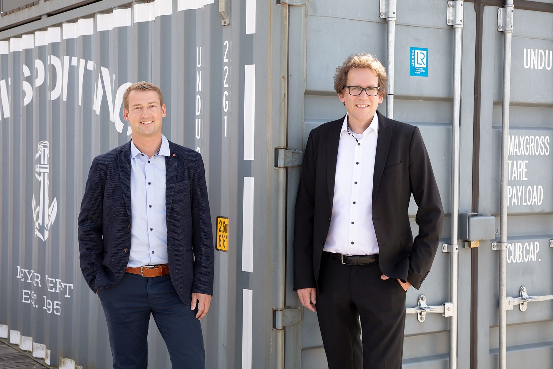 Dennis Hilmer (links) und Kai Nehe (rechts) / © Papenburg Marketing