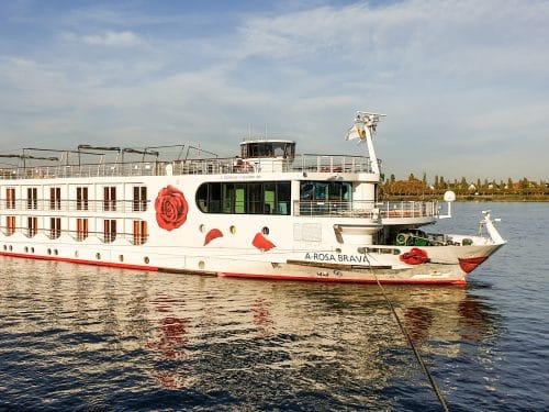 A-ROSA Brava in Mainz © Schiffe und Kreuzfahrten