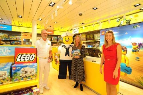 Lego Store an Bord von AIDAprima / © AIDA Cruises