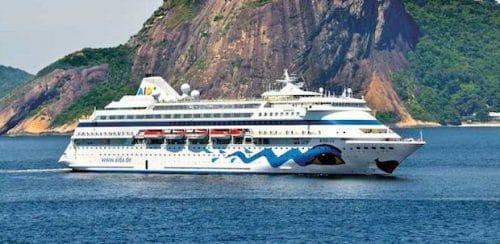 AIDAcara in Rio / © AIDA Cruises (Fotoausschnitt) - Fotograf: Florian Kopp
