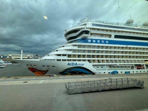 AIDAmar am Restart-Tag © Schiffe und Kreuzfahrten