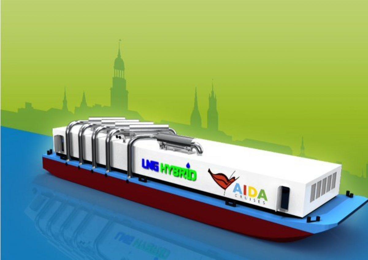 LNG Hybrid Barge Hamburg