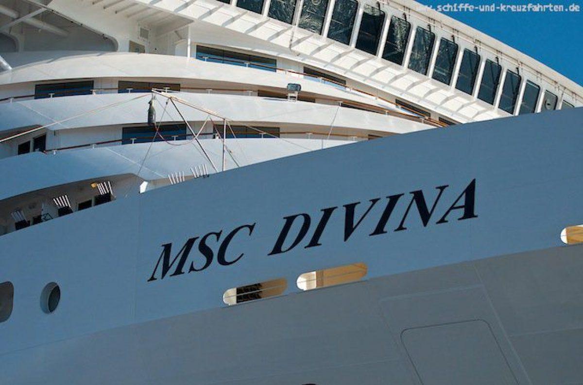 MSC Divina - Taufe in Marseille mit Sophia Loren 11