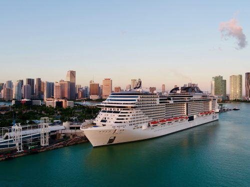 MSC Meraviglia in Miami / © MSC Cruises.