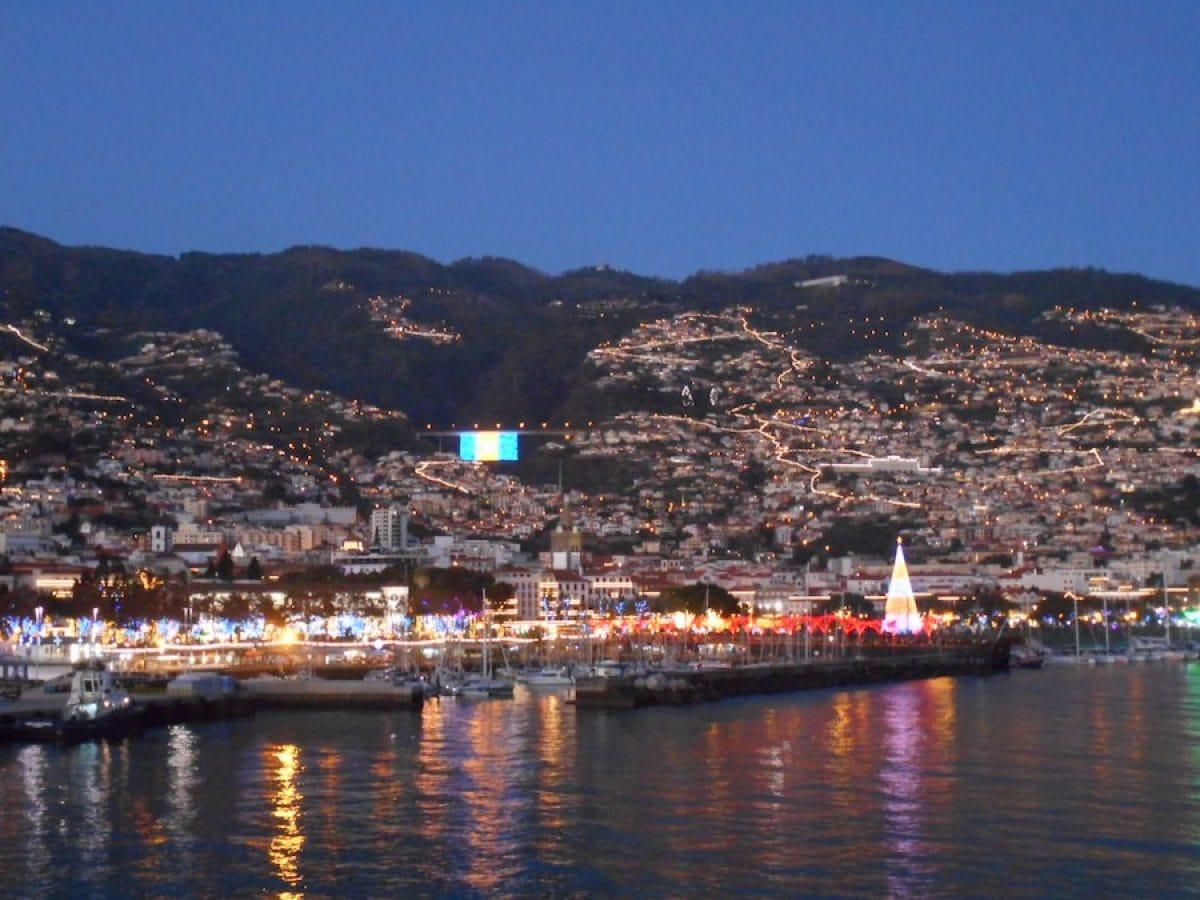 Madeira, Funchal am Abend