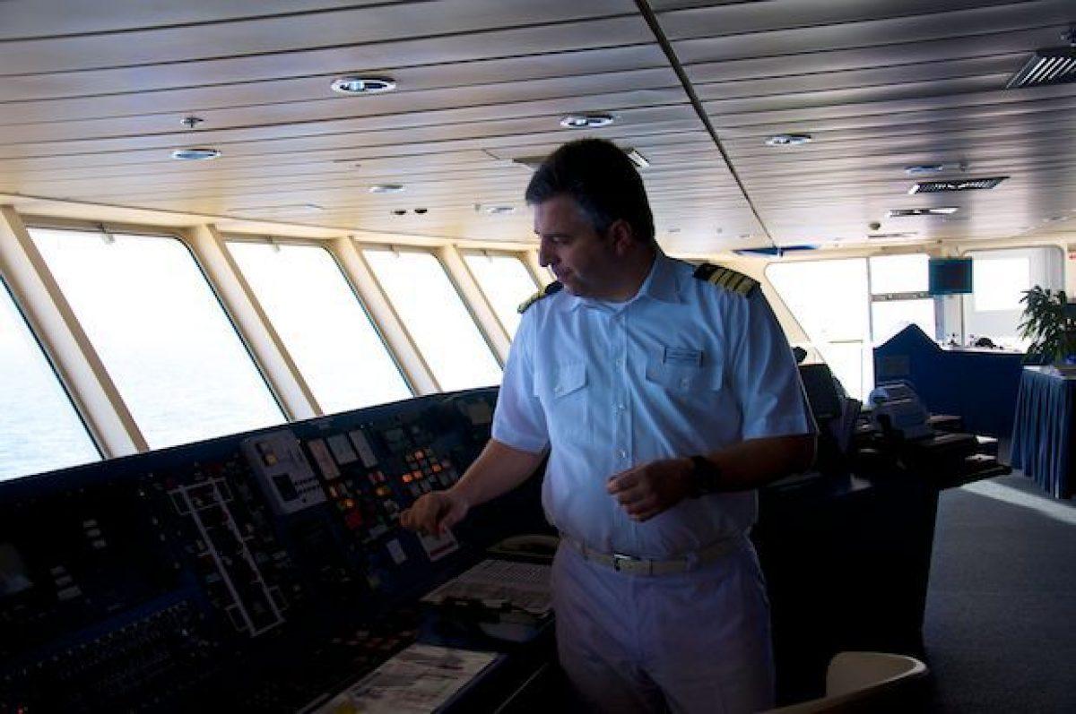 Mein Schiff Kapitän Dimitris Papatsatsis