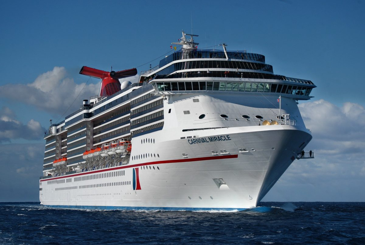 Carnival Miracle startet bald am San Francisco/ ©Carnival Cruise Line (Photo by Andy Newman)