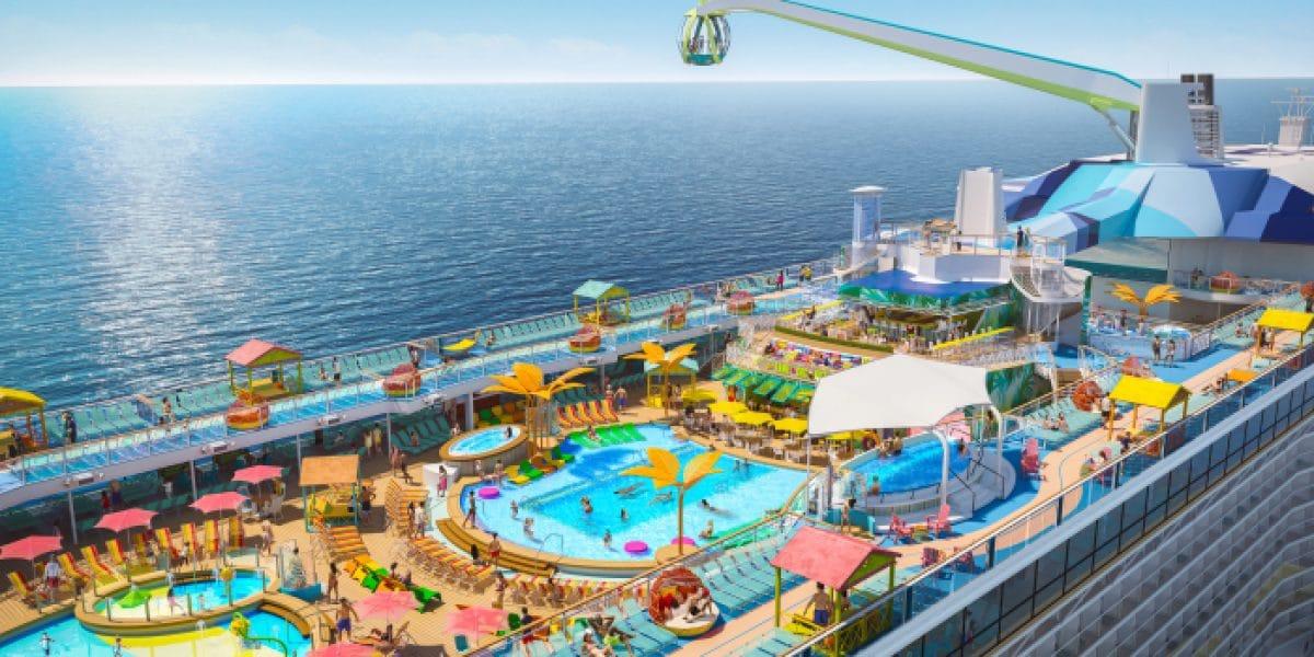 Odyssey PoolDeckAerial © Press Center Royal Caribbean International