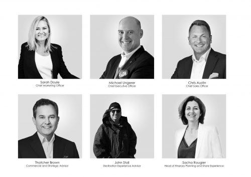 Führungskräfte der neuen MSC Luxusmarke / © MSC Cruises