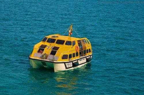 AIDAdiva Tenderboot (Rettungsboot)
