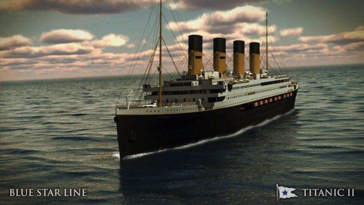 Titanic Neubau / Titanic 2 kommt in 2022