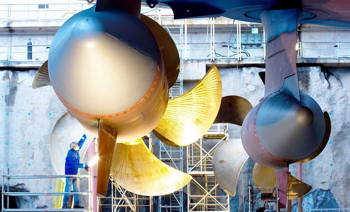 ABB stattet die neuen Genting Schiffe der Universal Class mit Azipods aus / © ABB