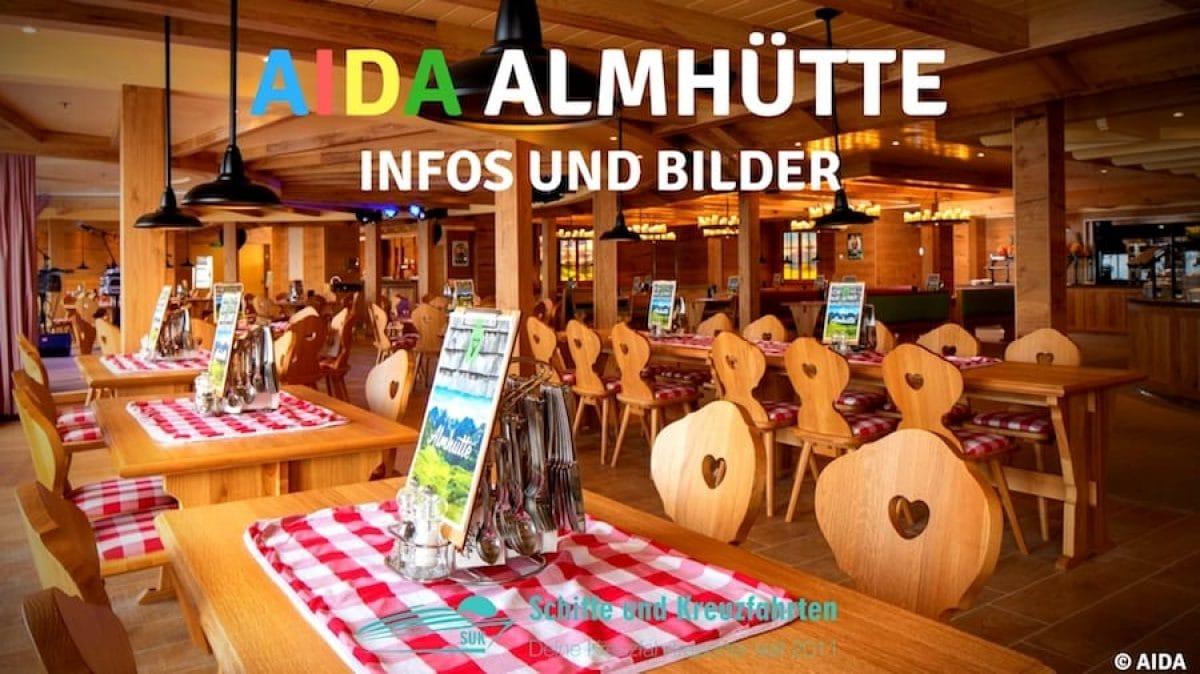 AIDA Almhütte - Alle Infos zur neuen Event-Location und Restaurant / © AIDA Cruises