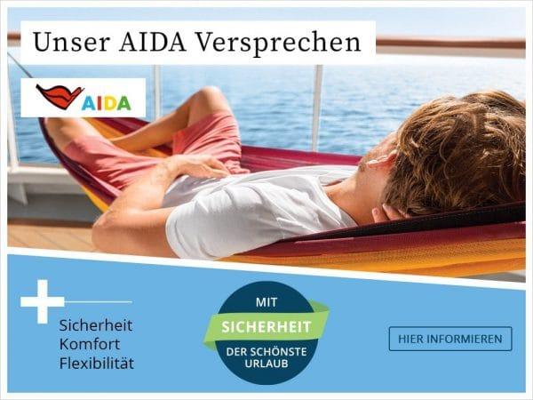 AIDA buchen im Herbst und Winter 2020