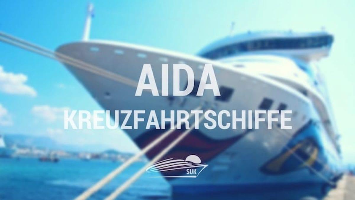 AIDA Schiffe - Alle AIDA Kreuzfahrtschiffe auf einen Blick