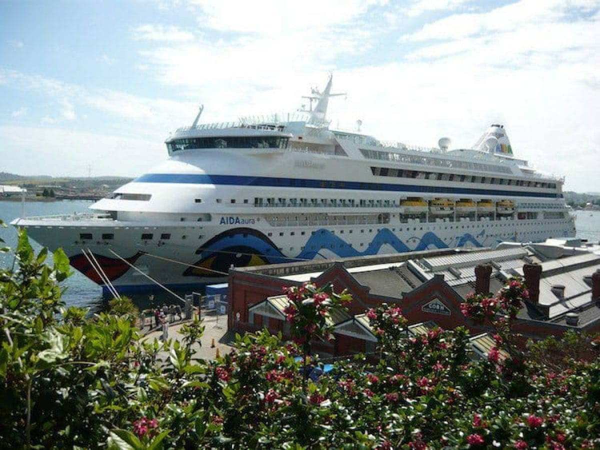 AIDAaura Reisebericht England-Kreuzfahrt