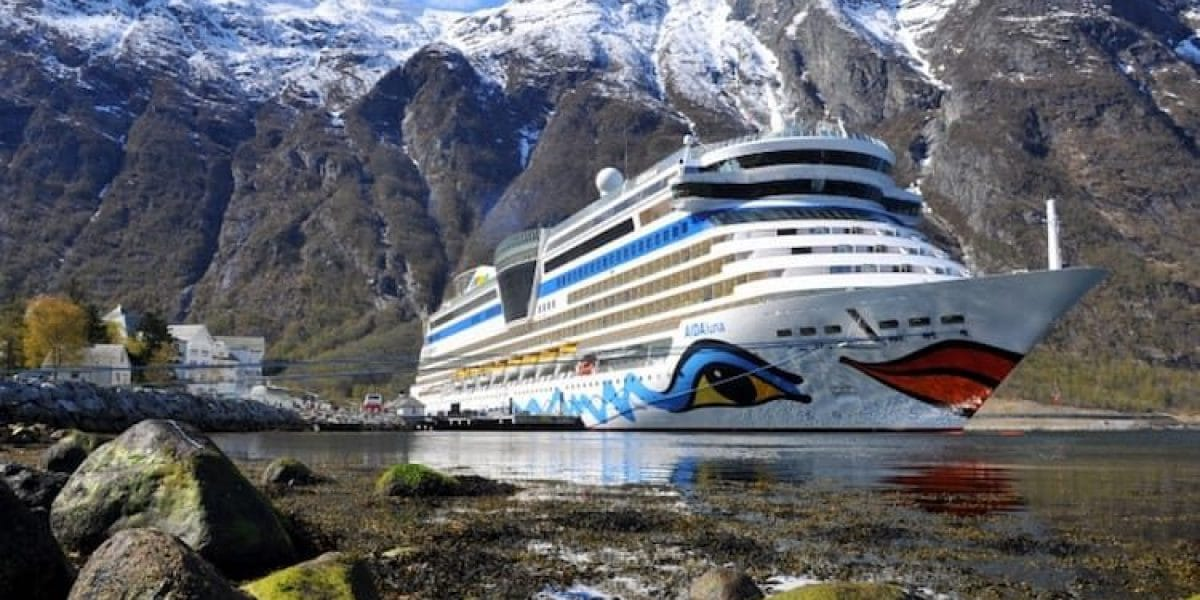AIDAluna in Norwegen / © AIDA Cruises