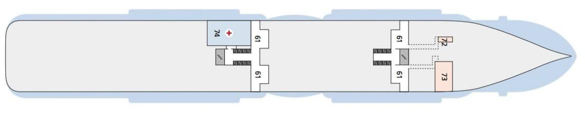 AIDAnova Deck 3 © AIDA Cruises