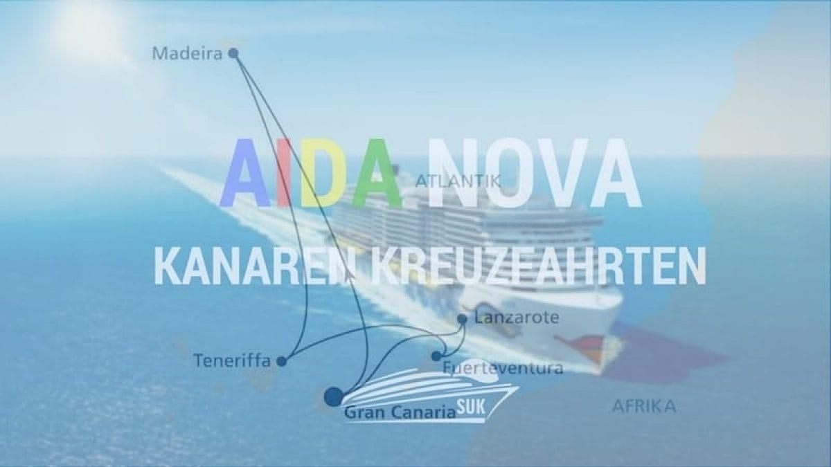AIDAnova Kanaren & Madeira Kreuzfahrten