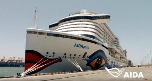 AIDAperla ist in Salalah angekommen / © AIDA Cruises