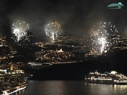 Silvesterfeuerwerk Madeira