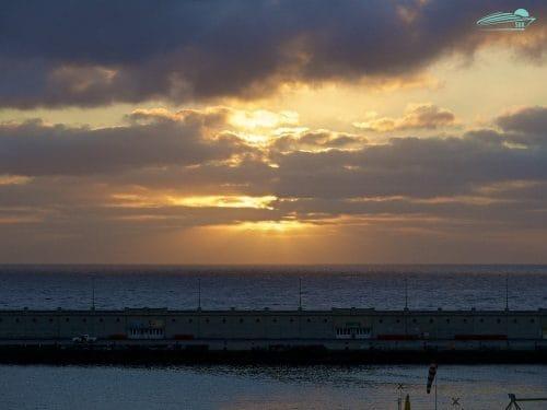 Sonnenaufgang in Santa Cruz de Tenerife
